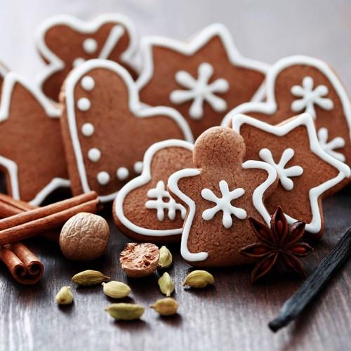 Świąteczne pierniczki z wanilią i cynamonem